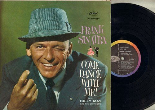 Sinatra, Frank - Come Dance With Me!: Something's Gotta Give, Cheek To Cheek, I Could Have Danced All Night, Dancing In The Dark (Vinyl MONO LP record) - NM9/EX8 - LP Records