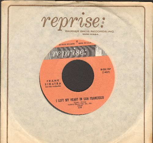 Sinatra, Frank - I Left My Heart In San Franciso/The Look Of Love (with Reprise company sleeve) - NM9/ - 45 rpm Records