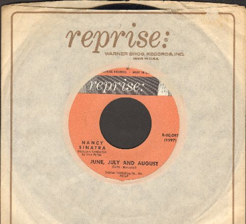 Sinatra, Nancy - June, July And August/Think Of Me (with Reprise company sleeve) - EX8/ - 45 rpm Records