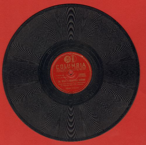 Sinatra, Frank - Oh, What A Beautiful Morning/People Will Say We're In Love (10 inch 78 rpm record, both songs featured in Broadway Production of -Oklahoma-) - VG7/ - 78 rpm