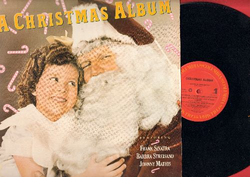 sinatra frank barbra streisand johnny mathis other a christmas album - Frank Sinatra White Christmas