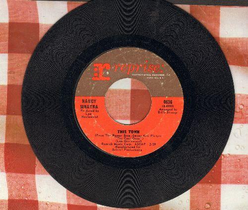 Sinatra, Nancy - This Town/Tony Rome - VG7/ - 45 rpm Records