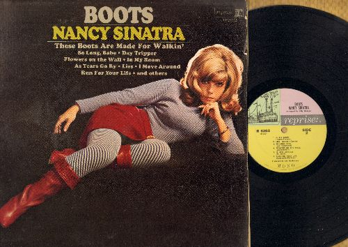 Sinatra, Nancy - Boots: Day Tripper, Flowers On The Wall, It Ain't Me Babe, Lies (Vinyl MONO LP record) - VG7/EX8 - LP Records