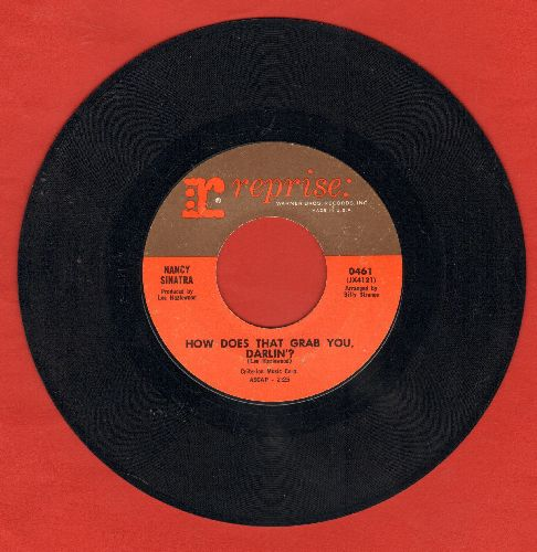 Sinatra, Nancy - How Does That Grab You, Darlin'?/The Last Of The Secret Agents - EX8/ - 45 rpm Records