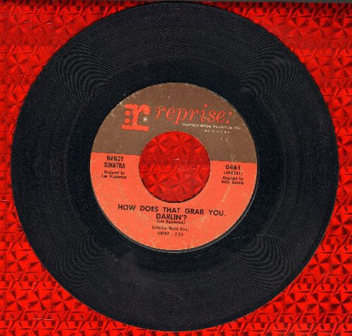 Sinatra, Nancy - How Does That Grab You, Darlin'?/The Last Of The Secret Agents - VG7/ - 45 rpm Records