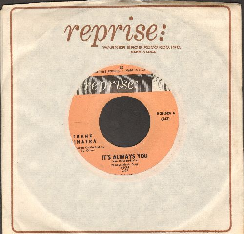 Sinatra, Frank - It's Always You/Imagination (with Reprise company sleeve) - NM9/ - 45 rpm Records