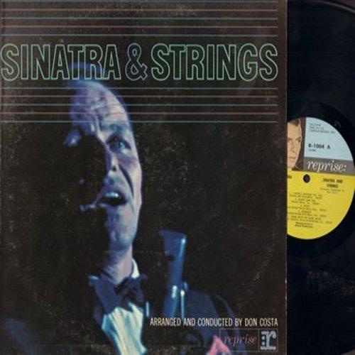 Sinatra, Frank - Sinatra & Strings: That's All, Stardust, Come Rain Or Come Shine, Night And Day (vinyl MONO LP record) - EX8/VG7 - LP Records