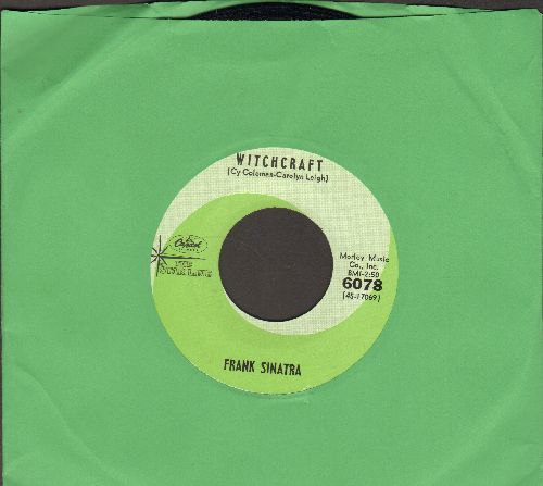 Sinatra, Frank - Chicago/Witchcraft (green label early double-hit re-issue)(minor wol) - NM9/ - 45 rpm Records