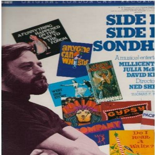Martin, Millicent, Julia McKenzie, David Kernan - Side By Side Sondheim - Original London Cast recording (2 vinyl STEREO LP record set, gate-fold cover, NICE condition!) - NM9/NM9 - LP Records