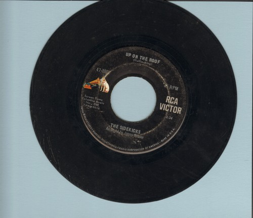 Sidekicks - Up On The Roof/Suspicions - VG7/ - 45 rpm Records