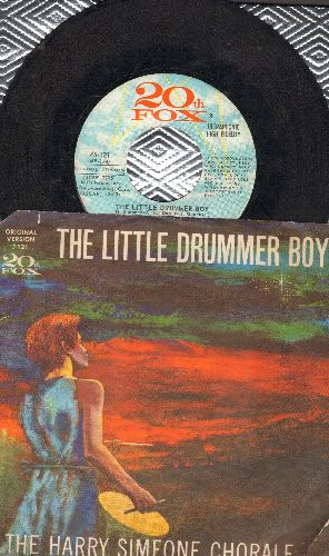 Simeone, Harry Chorale - The Little Drummer Boy/Die Lorelei (with picture sleeve) - VG7/VG7 - 45 rpm Records