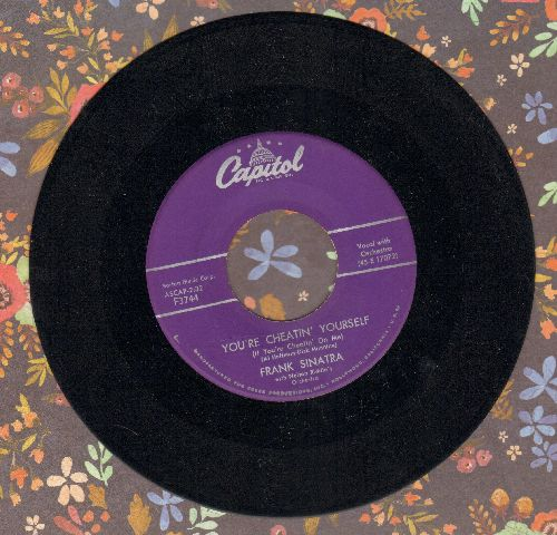 Sinatra, Frank - You're Cheatin' Yourself/Something Wonderful Happens In Summer - NM9/ - 45 rpm Records