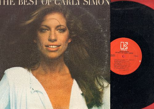 Simon, Carly - Best Of: You're So Vain, Anticipation, Haven't Got Time For The Pain, Mockingbird (Vinyl STEREO LP record, less common RED label pressing) - NM9/VG7 - LP Records