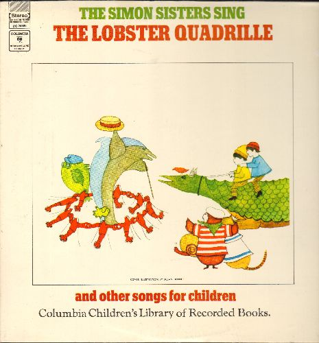 Simon Sisters - The Lobster Quadrille and other songs for children (vinyl STEREO LP record) - NM9/NM9 - LP Records