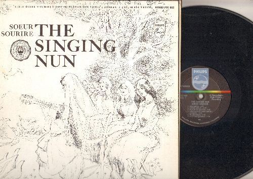 Singing Nun - Here Joy - Her Songs: Ma Petite Muse, Dans Les Magasins, Avec Toi, Petit Pierrot, Une Fleur, Midi (Vinyl LP record, RARE STEREO US Pressing, sung in French, with lyrics pages) - NM9/NM9 - LP Records