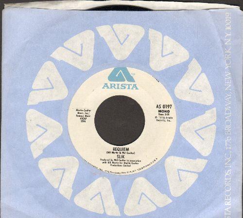 Slik - Requiem (double-A-sided DJ advance pressing) - NM9/ - 45 rpm Records