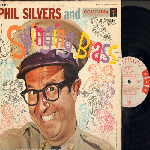 Silvers, Phil - Phil Silvers and Swinging Brass: Hurry Up And Wait, No Letter Today, Last Chance, Come As You Are (Vinyl MONO LP record, DJ advance pressing) - NM9/VG7 - LP Records