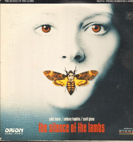 The Silence Of The Lambs - The Silence Of The Lambs -LASER DISC version of the Academy Award Winning Thriller starring Jody Foster and Anthony Hopkins - NM9/EX8 - Laser Discs