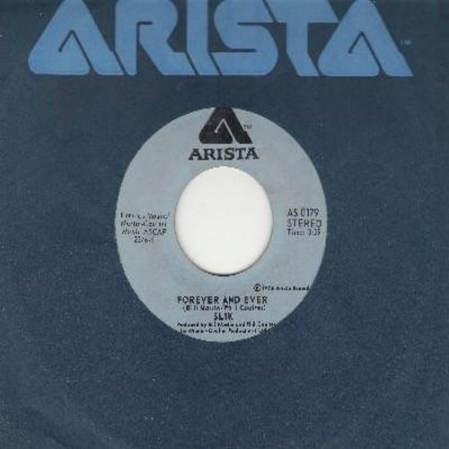 Slik - Forever And Ever/Again My Love (with Arista company sleeve) - M10/ - 45 rpm Records