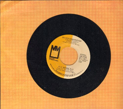 Silver Convention - Fly, Robin, Fly (this #1 world hit officially ushered-in the DISCO ERA)/Chaibs Of Love - EX8/ - 45 rpm Records