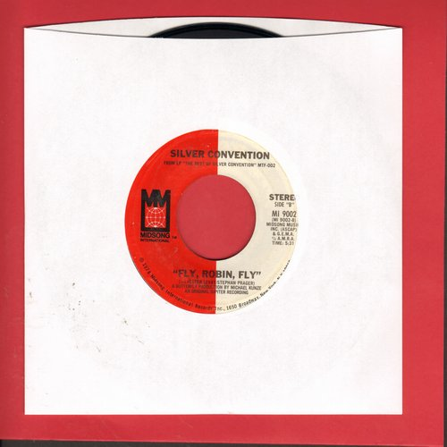 Silver Convention - Fly, Robin, Fly/Get Up And Boogie (double-hit re-issue) - M10/ - 45 rpm Records