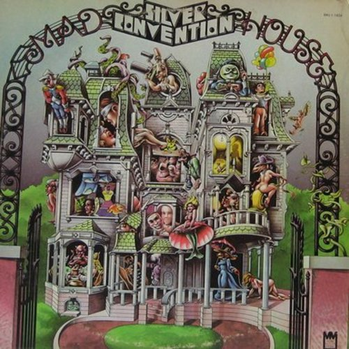 Silver Convention - Madhouse: The World Is A Madhouse, I'm Not A Slot Machine, Land Of Make Believe, Everybody's Talking 'Bout Love (Vinyl STEREO LP record) - EX8/VG6 - LP Records