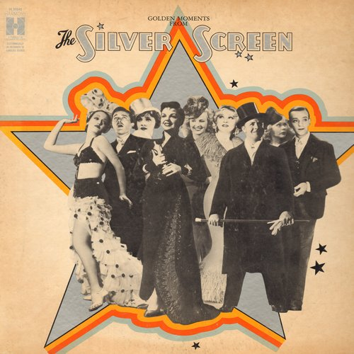Faye, Alice, Marlene Dietrich, Judy Garland, Mae West, others - Golden Moments From The Silver Screen: This Year's Kisses, They Call Me Sister Honky Tonk, Lola, Cheek To Cheek (Vinyl MONO LP record) - NM9/VG7 - LP Records