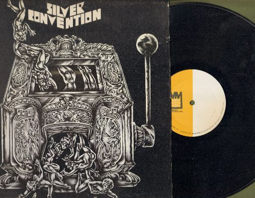 Silver Convention - Silver Convention: Get Up And Boogie, The Boy With The Ooh La-La, San Francisco Hustle (Vinyl STEREO LP record, RARE Factory Misprint, side A without writing!) - NM9/EX8 - LP Records