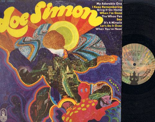 Simon, Joe - Joe Simon: My Adorable One, Bring It On Home To Me (parts 1 + 2), It's A Miracle, Let's Do It Over (Vinyl STEREO LP record) - NM9/VG7 - LP Records