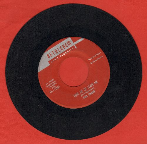 Simone, Nina - Love Me Or Leave Me/I Love You, Porgy - NM9/ - 45 rpm Records