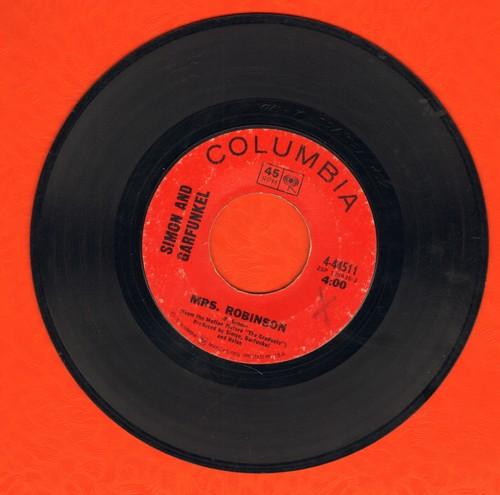 Simon & Garfunkel - Mrs. Robinson/Old Friends/Bookends - VG7/ - 45 rpm Records