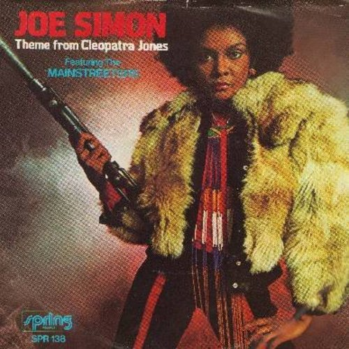 Simon, Joe - Theme From Cleopatra Jones/Who Was That Lady (with picture sleeve) - NM9/VG7 - 45 rpm Records