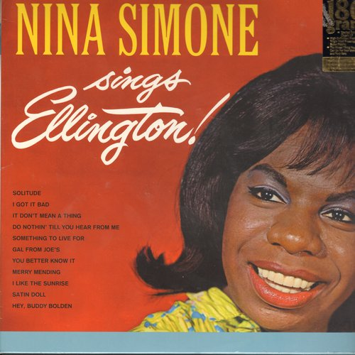 Simone, Nina - Nina Simone Sings Ellington!: Hey Buddy Bolden, Satin Doll, It Don't Mean A Thing, I Got It Bad (re-issue on 180 gram VIRGIN VINYL, Made in European Union) - SEALED/SEALED - LP Records