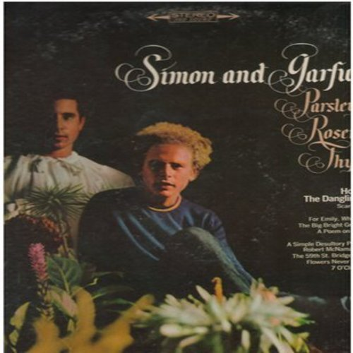 Simon & Garfunkel - Parsley, Sage, Rosemary and Thyme: Homeward Bound, 5th Street Bridge Song (Feelin' Groovy), For Emely Whenever I May Find Her (Vinyl STEREO LP record) - VG7/VG7 - LP Records