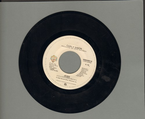 Simon, Carly - Jesse/Stardust  - VG7/ - 45 rpm Records