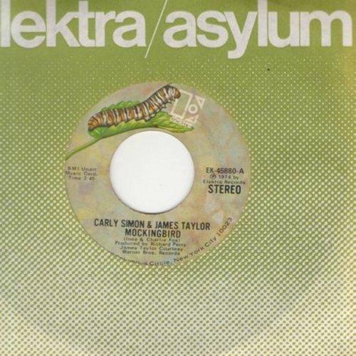 Simon, Carly & James Taylor - Mockingbird/Grownup  - EX8/ - 45 rpm Records