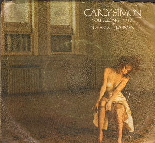 Simon, Carly - You Belong To Me/In A Small Moment (with picture sleeve) - NM9/VG7 - 45 rpm Records