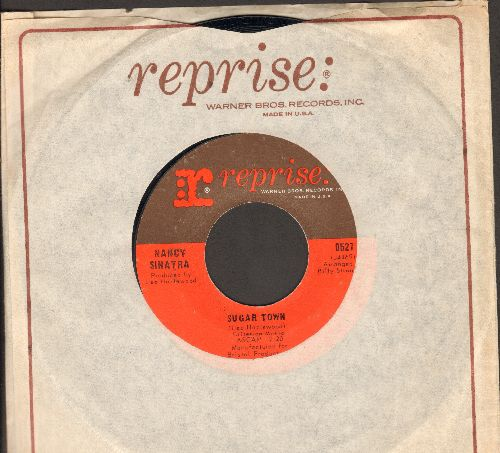Sinatra, Nancy - Sugar Town/Summer Wine (with vintage Reprise company sleeve, NICE condition!) - NM9/ - 45 rpm Records