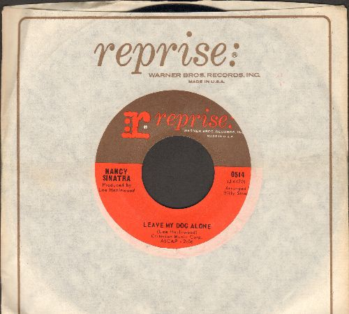 Sinatra, Nancy - Leave My Dog Alone/In Our Time (with Reprise company sleeve) - EX8/ - 45 rpm Records