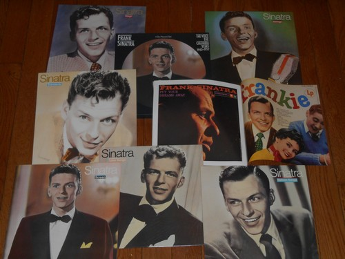 Sinatra, Frank - Frank Sinatra - The Voice - The Columbia Years 1943-1952: 6 vinyl LP Box Set, each LP is a themed collection of Sinatra Classics. COLLECTOR'S Item! - NM9/EX8 - LP Records