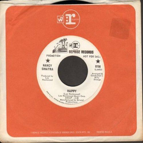 Sinatra, Nancy - Nice 'N Easy/Happy (DJ advance pressing with Reprise copmpany sleeve) - M10/ - 45 rpm Records