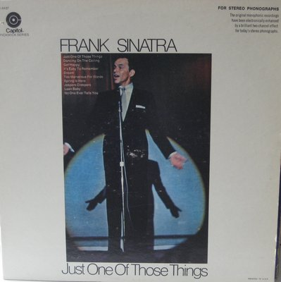Sinatra, Frank - Just One Of Those Things: Dancing On The Ceiling, Get Happy, Jeepers Creepers, Dream (Vinyl LP record, re-issue of vintage recordings) - NM9/EX8 - LP Records