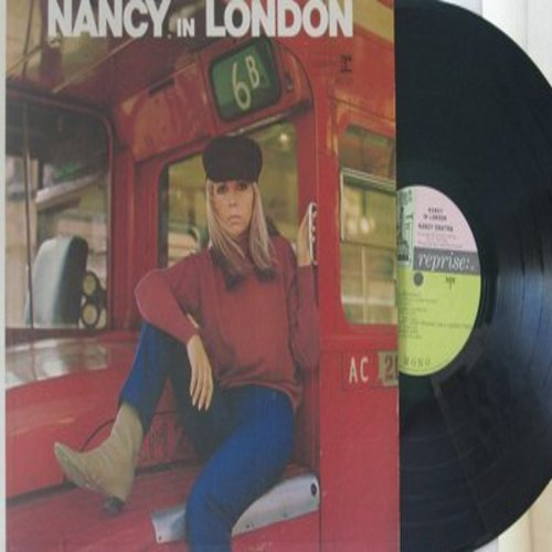 Sinatra, Nancy - Nancy In London: Wishin' And Hopin', The More I See You, Friday's Child, The End, Summer Wine, On Broadway (Vinyl MONO LP record) - EX8/NM9 - LP Records