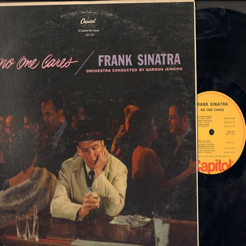 Sinatra, Frank - No One Cares: Stormy Weather, I'll Never Smile Again, A Cottage For Sale, Here's That Rainy Day (Vinyl STEREO LP record, re-issue of vintage recordings) - NM9/VG7 - LP Records