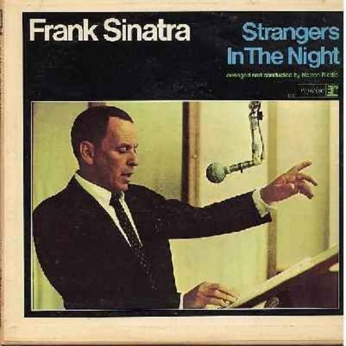 Sinatra, Frank - Strangers In The Night: Summer Wind, Call Me, Downtown, Yes Sir That's My Baby, The Most Beautiful Girl In The World (Vinyl MONO LP record) - EX8/EX8 - LP Records