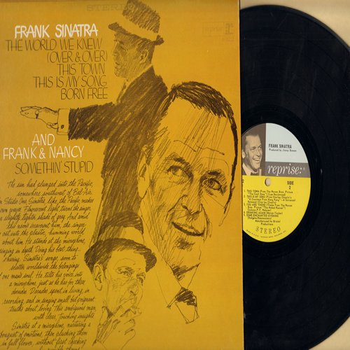 Sinatra, Frank - The World We Knew: Born Free, Somethin' Stupid (duet with Nancy Sinatra), This Is My Song, Some Enchanted Evening (Vinyl STEREO LP record) - NM9/EX8 - LP Records