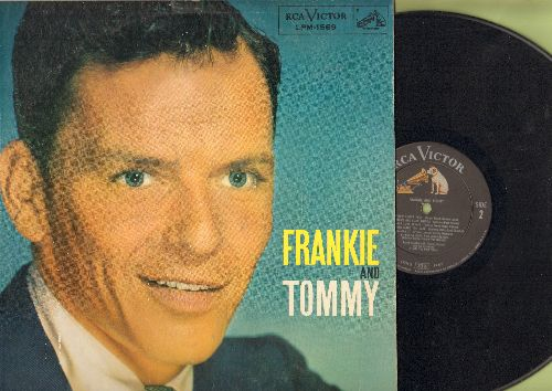Sinatra, Frank - Frankie & Tommy: Polka Dots And Moonbeams, Devil May Care, Our Love Affair, Anything (vinyl MONO LP record) - EX8/EX8 - LP Records