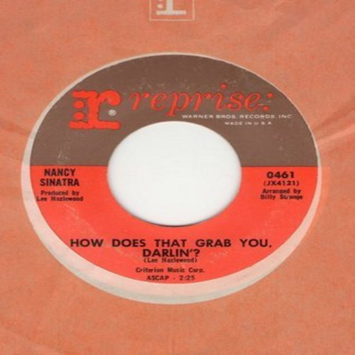 Sinatra, Nancy - How Does That Grab You, Darlin'?/The Last Of The Secret Agents (with vintage Reprise company sleeve) - NM9/ - 45 rpm Records