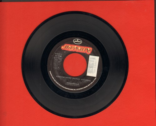 Cinderella - Coming Home/Take Me Back - NM9/ - 45 rpm Records