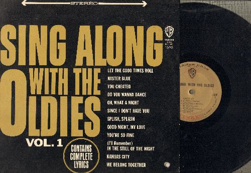 Heiman, Herb - Sing Along With The Oldies Vol. 1: Mr. Blue, Do You Wanna Dance, Splish Splash, You Cheated, We Belong Together (vinyl STEREO LP record) - EX8/EX8 - LP Records